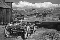 Ghostown Bodie en California Fotos de archivo