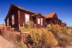 Ghostown Bodie i Kalifornien Arkivfoton