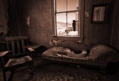 Ghostown Bodie i Kalifornien Royaltyfri Fotografi