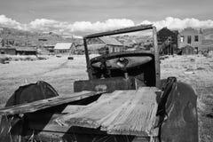 Ghostown Bodie i Kalifornien Royaltyfria Bilder