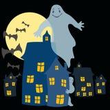 ghosts ilustração royalty free