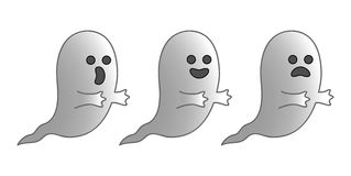 ghosts imagem de stock royalty free