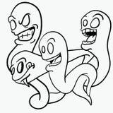 ghosts ilustração do vetor