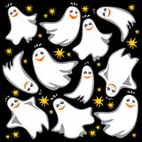 Ghosts background Stock Photos