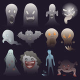 Ghosts character Royalty Free Stock Photos