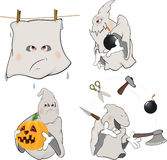 Ghosts Clip art cartoon Stock Images