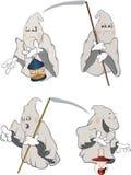 Ghosts Clip art cartoon Stock Image