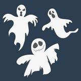 ghosts Grupo de ícones para Dia das Bruxas ilustração royalty free