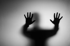 Ghosts hand. Royalty Free Stock Photography