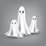 Ghosts Illustration Royalty Free Stock Images