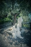 Ghosts of Lake Como stock photography