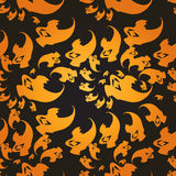 Ghosts Seamless pattern Stock Images