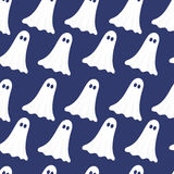 Ghosts seamless pattern Royalty Free Stock Image