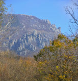 Ghosts Valley in Crimea _ Autumn Stock Image