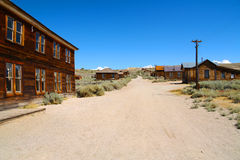 Ghosttown Stock Image