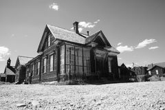 Ghosttown Bodie Stock Photography