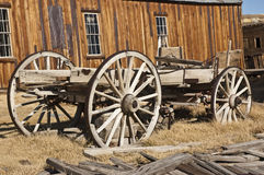 Ghosttown bodie stage coach royalty free stock images