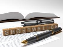 ghostwriter photographie stock