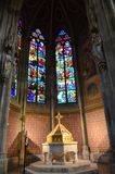 Ghotic cathedral in Vienna Stock Photo