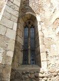 Ghotic fönsterdetaljer Royaltyfri Bild