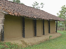 Ghotul Tribal's Dwelling. Muria, Ghotul Tribal's Dwelling, South Bastar, Chhattisgarh, India Royalty Free Stock Image