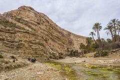 Ghoufi canyon Royalty Free Stock Image