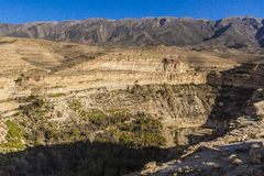 Ghoufi canyon royalty free stock photo