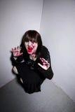 Ghoul em um canto Foto de Stock