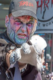 Ghoul at the Pasadena Doo Dah Parade Stock Photos