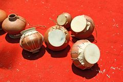 Ghumats perkusi instrument Obrazy Stock