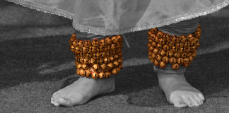Ghungroo- A jewelry of classical dancer. Royalty Free Stock Image