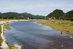 Giăng-Fluss Stockfotografie