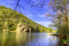 Giù dal fiume fotografie stock libere da diritti