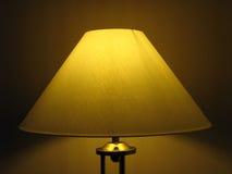Giù indicatore luminoso dorato Immagine Stock Libera da Diritti