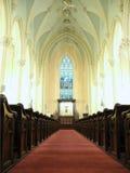 Giù la navata laterale Immagini Stock