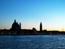Giù a Venezia fotografia stock