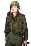 GI americano di guerra di Vietnam. Immagine Stock