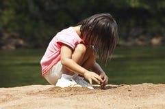 Gi dans le sable Images stock