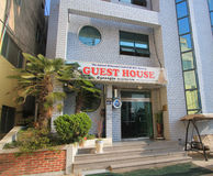 Gi Guest House in Gyeongju. Gi Guest House, locted in Gyeongju, South Korea. Gi Guest House is a economic guest house for backpacker to stay in South Korea Royalty Free Stock Photo
