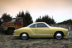 Gia 69 da VW Karmann Imagens de Stock Royalty Free