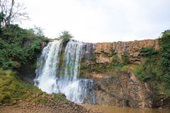 Gia Lai, Vietnam - November 24, 2018: Xung Khoeng waterfall in Vietnam. Gia Lai, Vietnam - November 24, 2018: Xung Khoeng waterfall in Vietnam stock photos