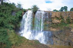 Gia Lai, Vietnam - November 24, 2018: Xung Khoeng waterfall in Vietnam. stock photos
