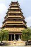 Giac Lam Pagoda i Ho Chi Minh City arkivfoton