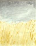 Giacimenti di grano royalty illustrazione gratis