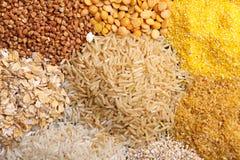 Giacimento detritico dei cereali sotto forma di mucchio Fotografia Stock