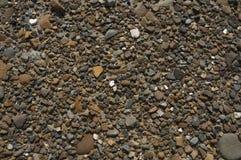 Giacimento detritico di piccole pietre Immagine Stock