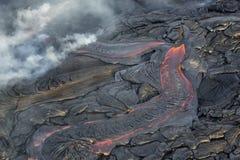 Giacimento di lava Fotografie Stock