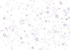 Giacimento di stella decorativo Fotografie Stock