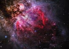 Giacimento di stella nello spazio profondo Immagini Stock