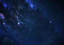 Giacimento di stella nello spazio profondo Immagini Stock Libere da Diritti